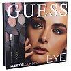 Guess Eye Look Book Zestaw do makijażu cienie do powiek 12x1,16g + tusz 4ml Black + kredka do oczu 0,5g Black + lusterko 101 Nude