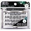 Ardell Professional Soft Touch Medium Black Kępki sztucznych rzęs 56 szt