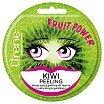 Lirene Fruit Power Kiwi Peeling Złuszczający peeling do twarzy z naturalnymi pestkami 1szt.