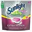Sunlight Expert All In 1 Extra Power Tabletki do mycia naczyń w zmywarkach 40szt. Citrus Fresh