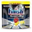 Finish Powerball Quantum Ultimate Kapsułki żelowe do zmywarki 10 sztuk Lemon Sparkle